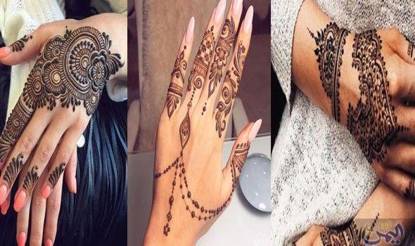 رسومات حناء لإطلالة رمضانية مميزة بشكل لا مثيل له Hand Henna Henna Hand Tattoo Hand Tattoos