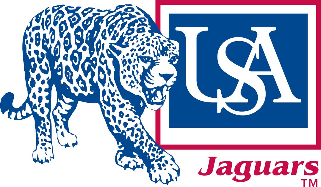 South Alabama Jaguars Alternate Logo University Of South Alabama Jaguars Alabama Football Logo