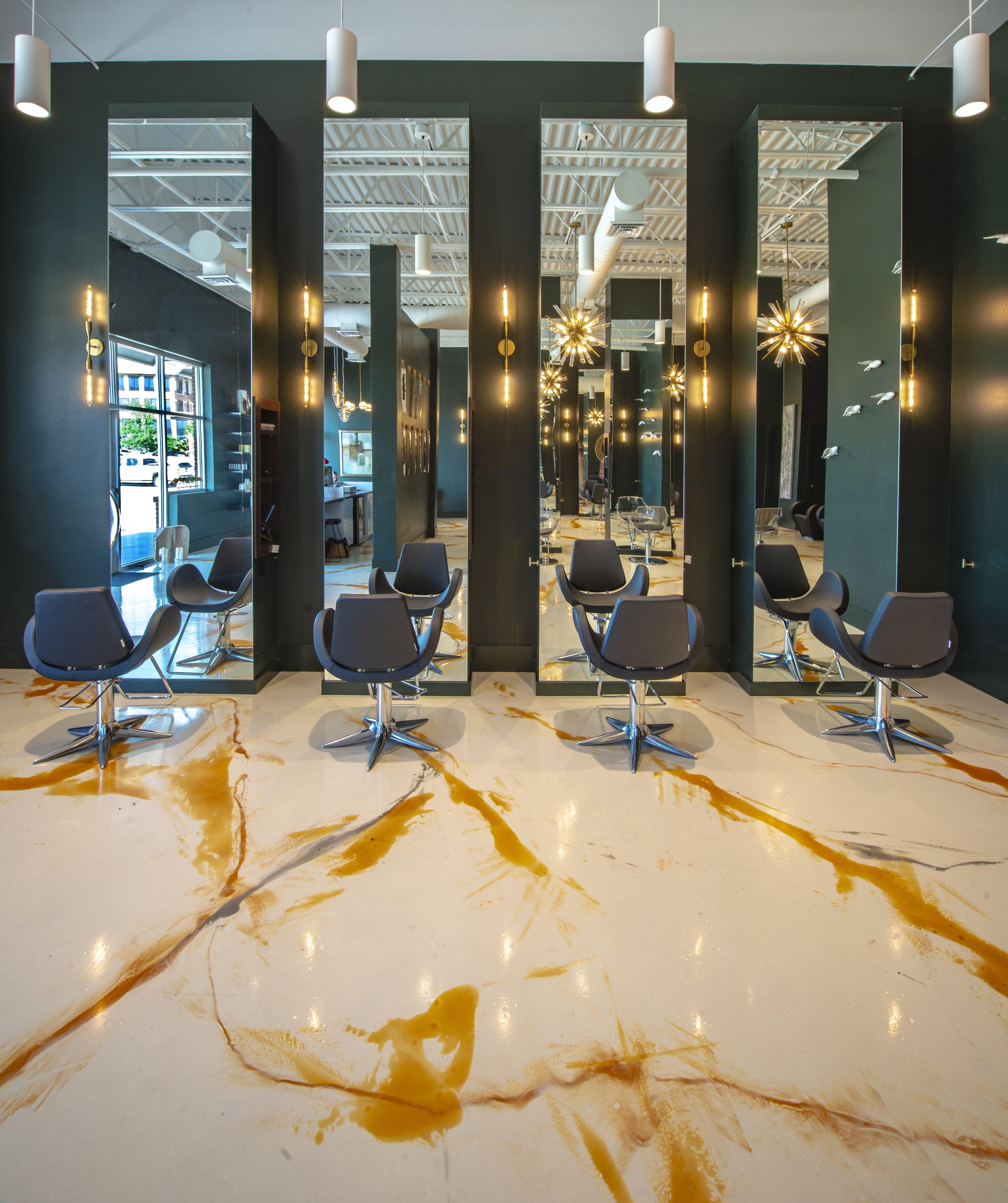 Interior Ideas for Salon Salon Flooring Salon Lighting Salon