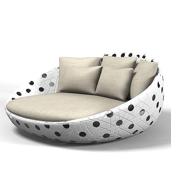 B Italia Circular Sofa $15.00