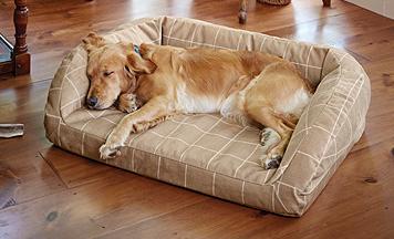 ToughChew® Memory Foam Bolster Dog Bed Bolster dog bed
