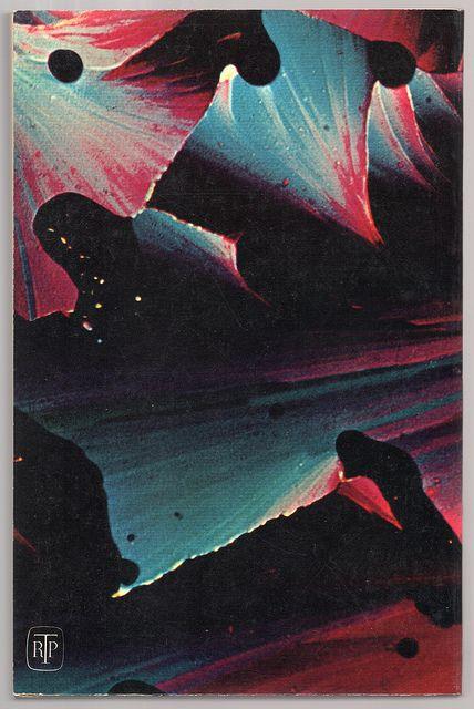 The Martian Chronicles (1963) by Ray Bradbury, 1963. Rear book cover art by Marie Jones.