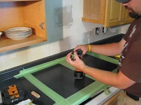 Cutting Formica Countertop