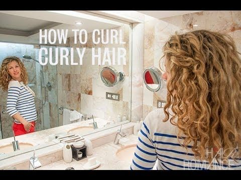 How To Re Style Curly Hair On The Second Day Curly Hair Styles Hair Romance Curly Hair Styles Naturally