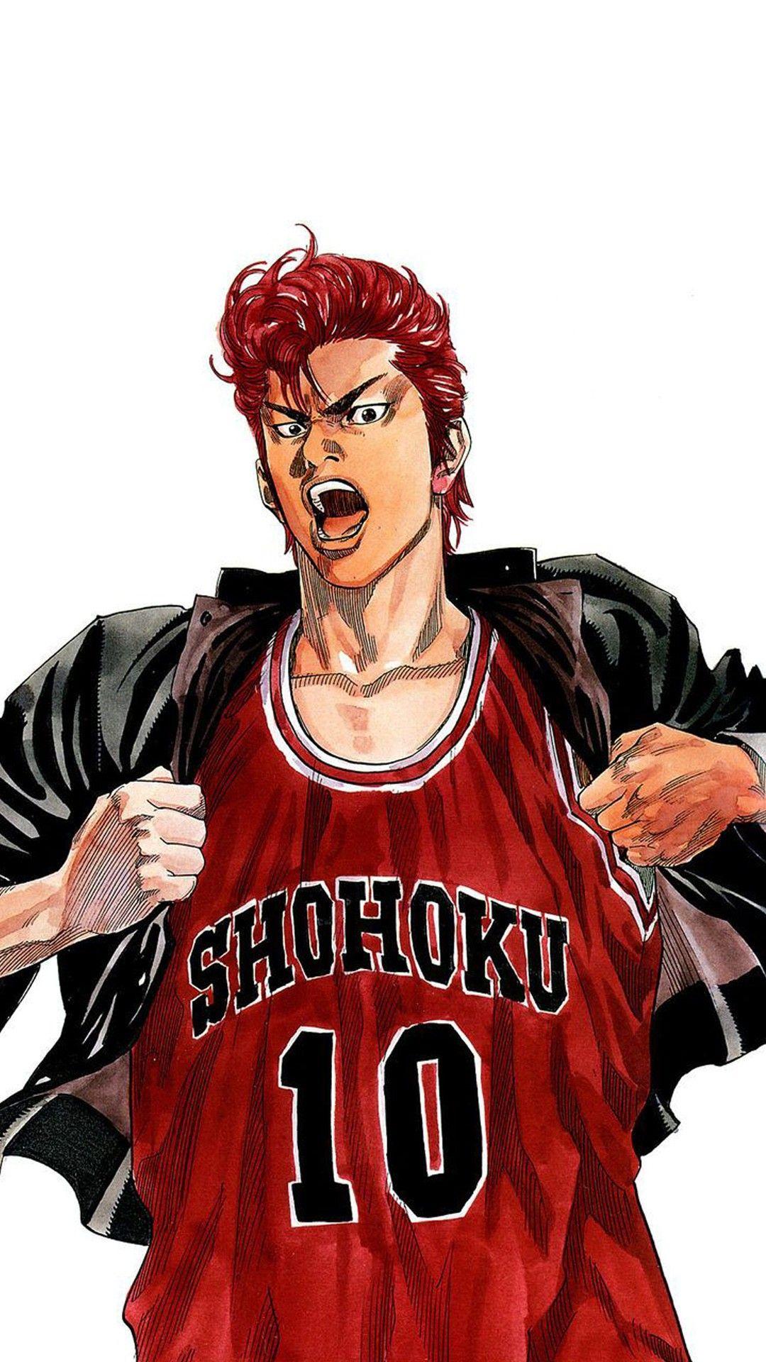 Slam Dunk Anime Desenhos Animacao