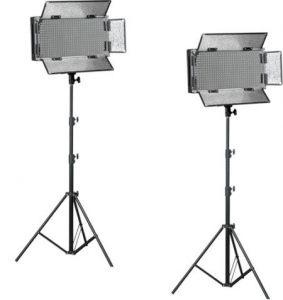 Led Video Light Kit With Stands