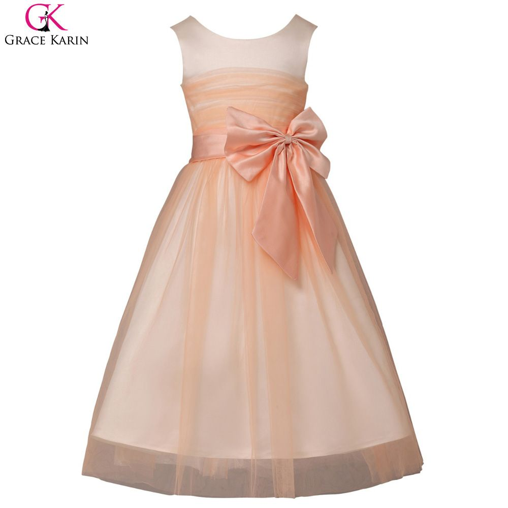 Click to buy ucuc cheap flower girl dresses for weddings party pageant