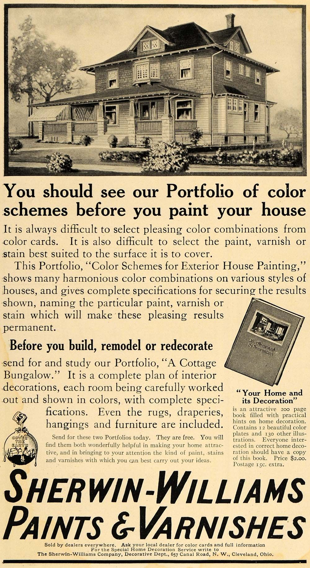 Sherwin-Williams old advertising | 1800's - 1940's Home ...