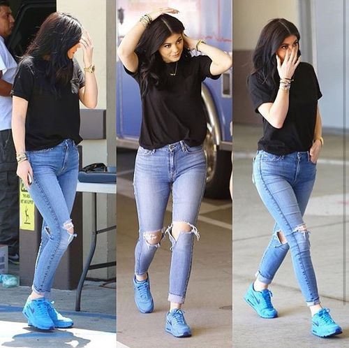 Kylie Jenner Outfits: Kylie Jenner Casual Outfit!!