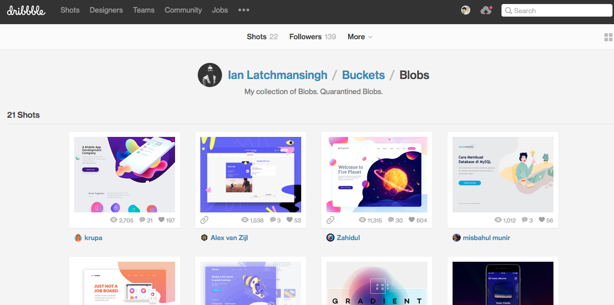 References on design trend, blob design  | UI UX GUI Design | Design