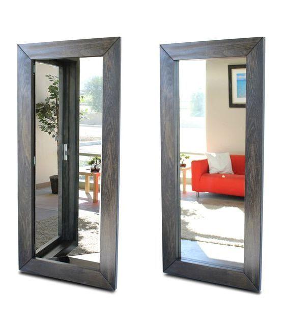 Superior Secret Door Behind The Mirror