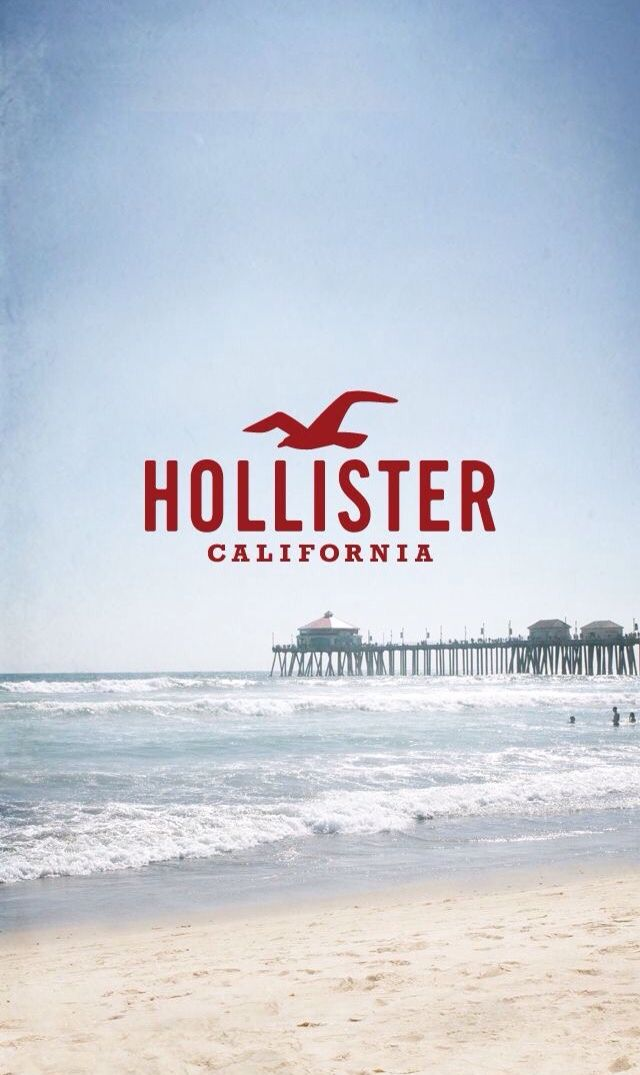 Because hollister is forever hollister wallpaper hot - Abercrombie and fitch logo wallpaper ...