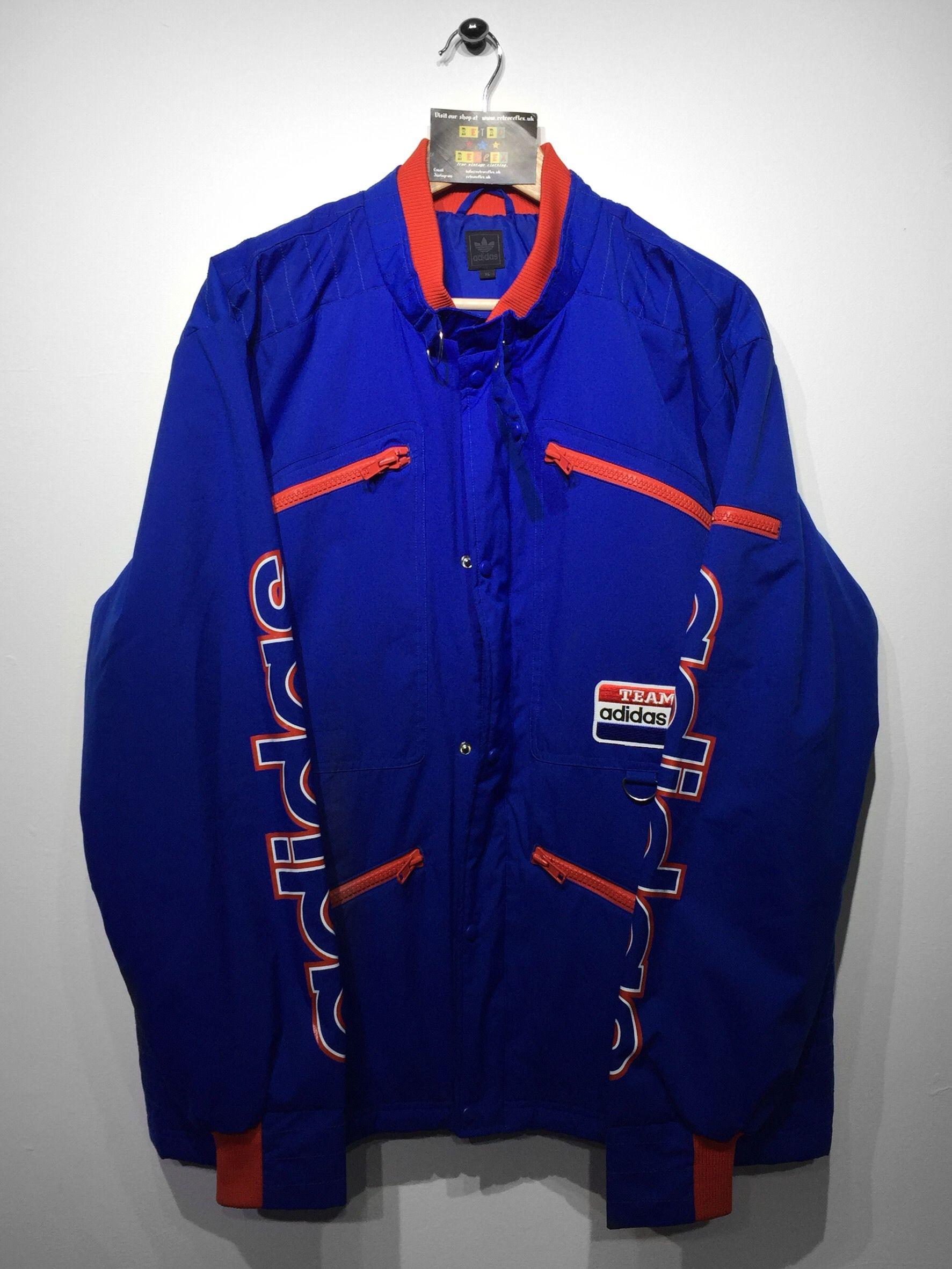 quality design 4b4ba f6578 Adidas Coat size   街头文化   Pinterest   Adidas, Vintage clothing ...