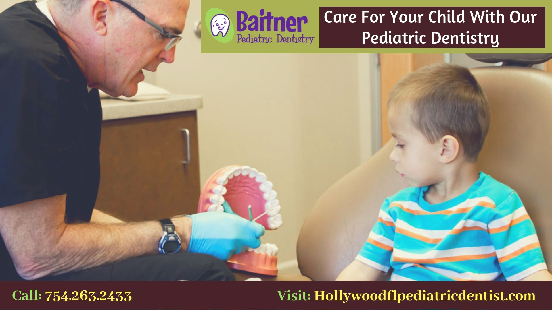 Looking for the compassionate pediatric dentist? At