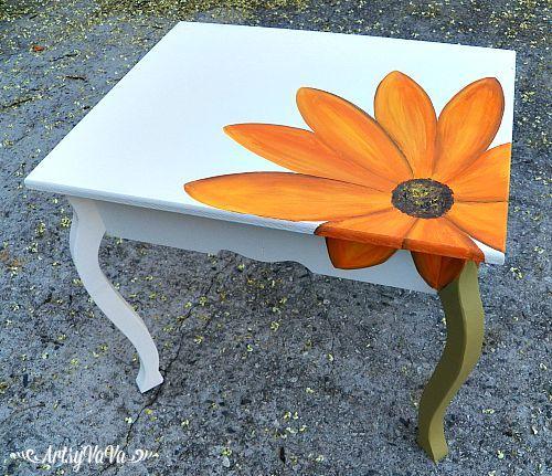 Artsy VaVa: The Blooming Table | Pintura mf | Pinterest | Mesas ...