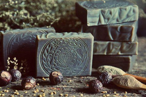 Ayurvedic Herbs Shampoo Bar Soap. Organic. Vegan. by Herbolution