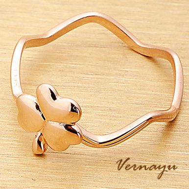 lucky charm clover ring -  http://zzkko.com/book/shopping?note=28846 $4.00