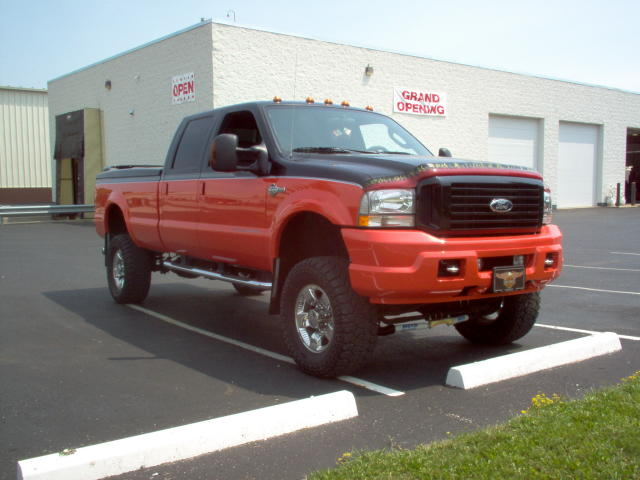 Harley Davidson Edition F 150 In Service Orange Not A True Red Color