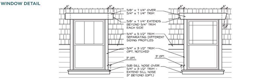 Ply Gem Trim Mouldings Craftsman Style House Windows Details House Exterior Pinterest