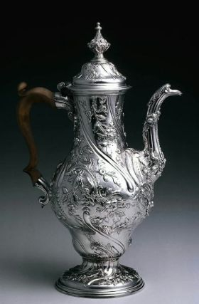 Silver Coffeepot, 1767-~1768 - Marked by William Grundy - Museum of Fine Arts, Boston