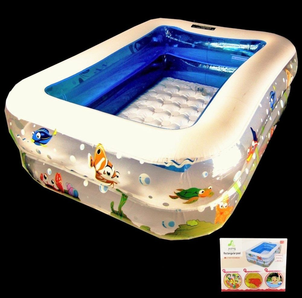Deepest Above Ground Pool >> Here we have a 5 ft inflatable family swimming pool. This is an easy fix pool that is ready to ...