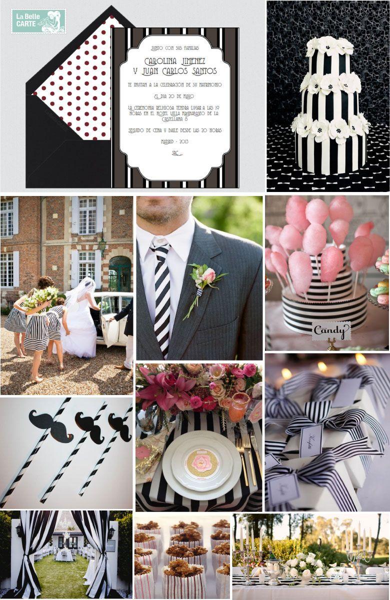 de boda para boda ideas para bodas bodas inspiradas en rayas