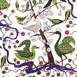 josef frank #birdfabric