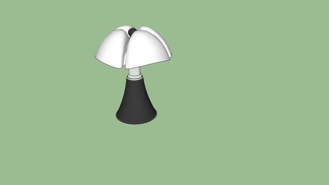 620 Ne Pipistrello Design Gae Aulenti Martinelli Luce Image 3d Et Cri