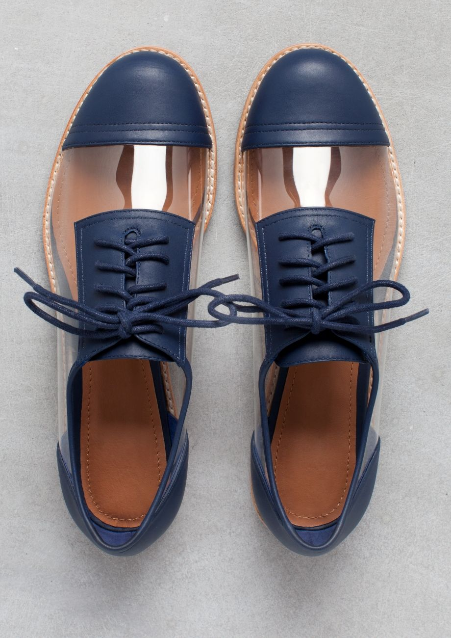abigail lorick oxfords indigo other stories derbies pinterest chaussure chaussures. Black Bedroom Furniture Sets. Home Design Ideas