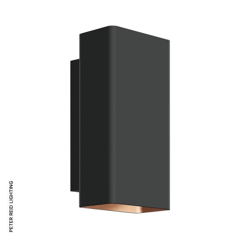 Studio Line Led Rectangular Up Down Wall Lights Velvet Black Copper 50 213 6 And 50 214 6 By Glashutte Limburg Glashutte Limburg Leuchten