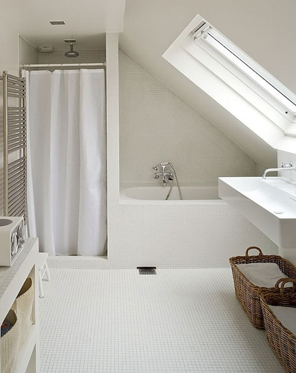 45 Cool Attic Bathroom Remodel Ideas | Attic bathroom, Attic and ...