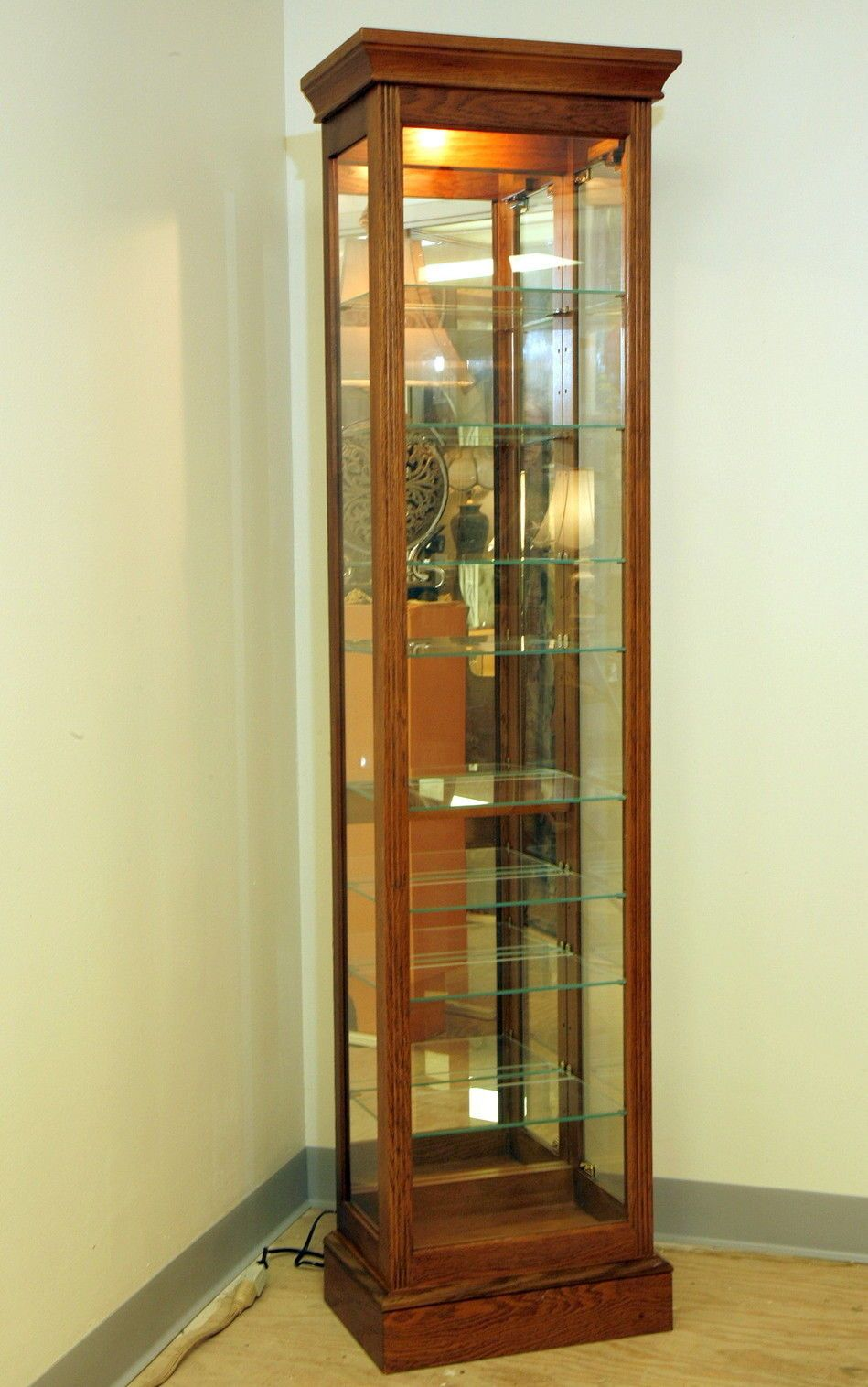 Display Cabinets | eBay & Vintage Display Curio 72