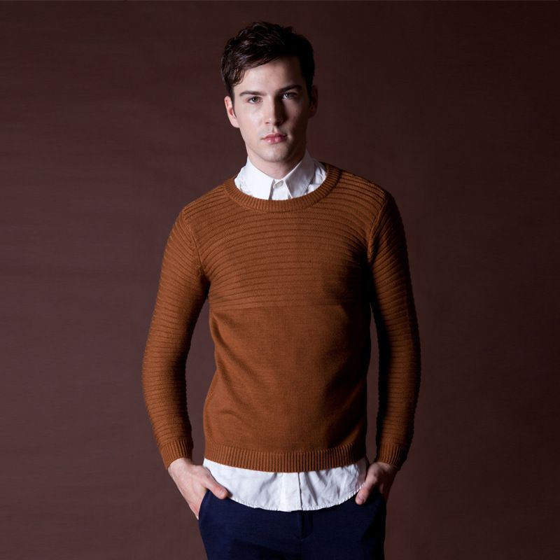 Thick Sweater Pullover Masculino Mens Wool Sweaters 2015 New ...