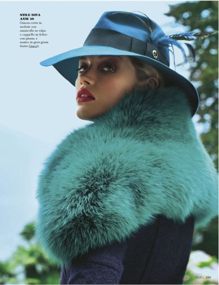 """""""Idee Forth"""" : Julie Ordon : Grazia No.40 October 2011 : Frederic Pinet"""