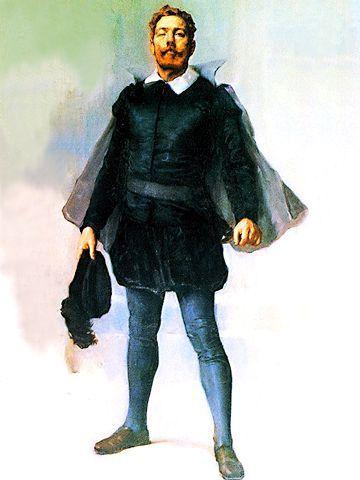 Luis Vaz De Camoes 1524 1580 Luis Vaz De Camoes Oleo S Tela