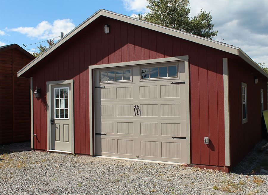 How Do You Like This Door Http Www Hillviewminibarns Com Garages Stick Built Php Doors Garages Garage Doors