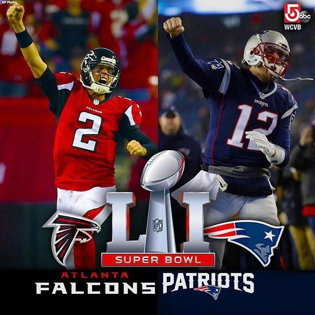 Falcons Matty Ice Vs Patriots Tombrady This Is Going To Be An Epic Superbowl Nfl Sb51 Houston Super Bowl Football Memes Sb51