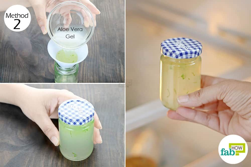 Refrigerate The Gel In An Airtight Jar To Store Aloe Vera Aloe Aloe Vera Gel Aloe Vera