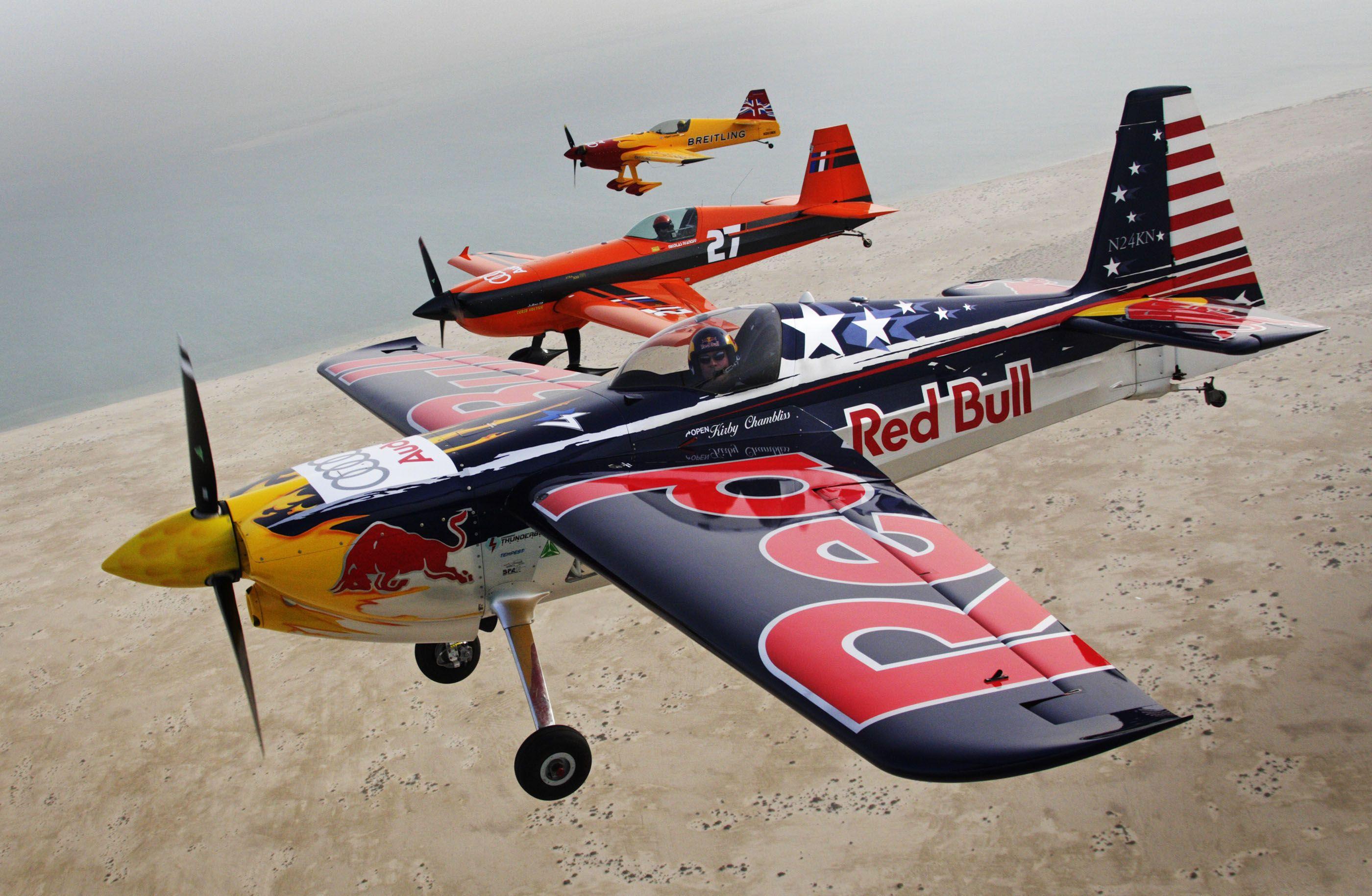 RED-BULL-AIR-RACE airplane plane race racing red bull