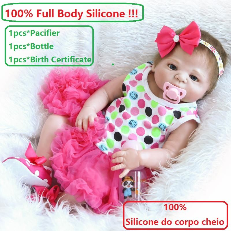 23 Super Realistic 100 Reborn Full Body Silicone Dolls Lifelike Princess Girl Alive Toddler Clothes Do Silicone Reborn Babies Reborn Babies Reborn Baby Girl