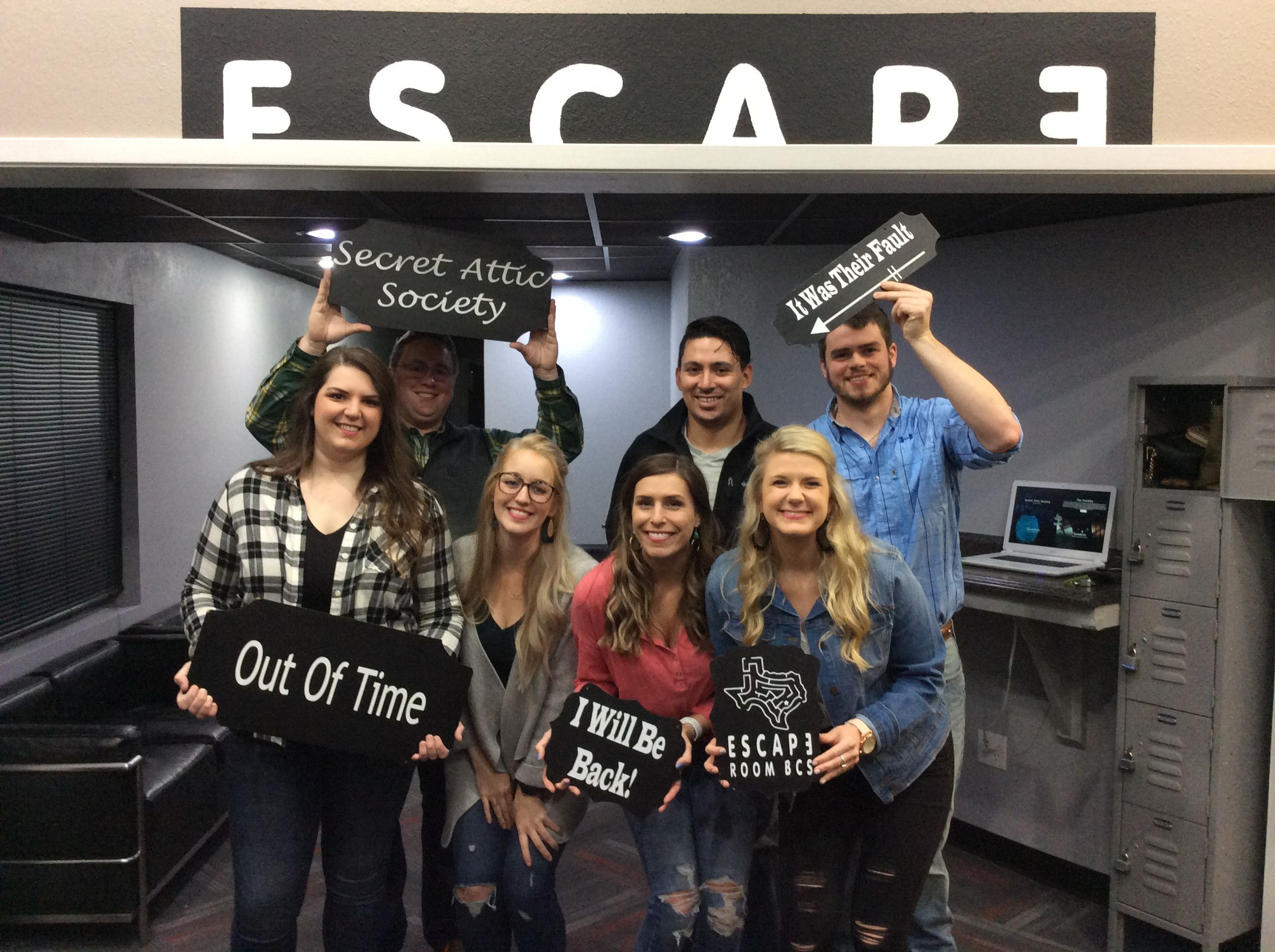 This Group Made A Respectable Attempt At The Secret Attic Society In 2020 Society Secret Escape Room