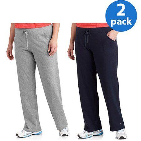 de7ba3b58d Danskin Now Women s Plus-Size Dri-More Relaxed Fit Workout Pants