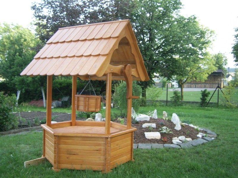 Studnia Drewniana Ozdobna Duza Radrew Wysylka 5335687663 Oficjalne Archiwum Allegro Outdoor Gardens Outdoor Structures Outdoor