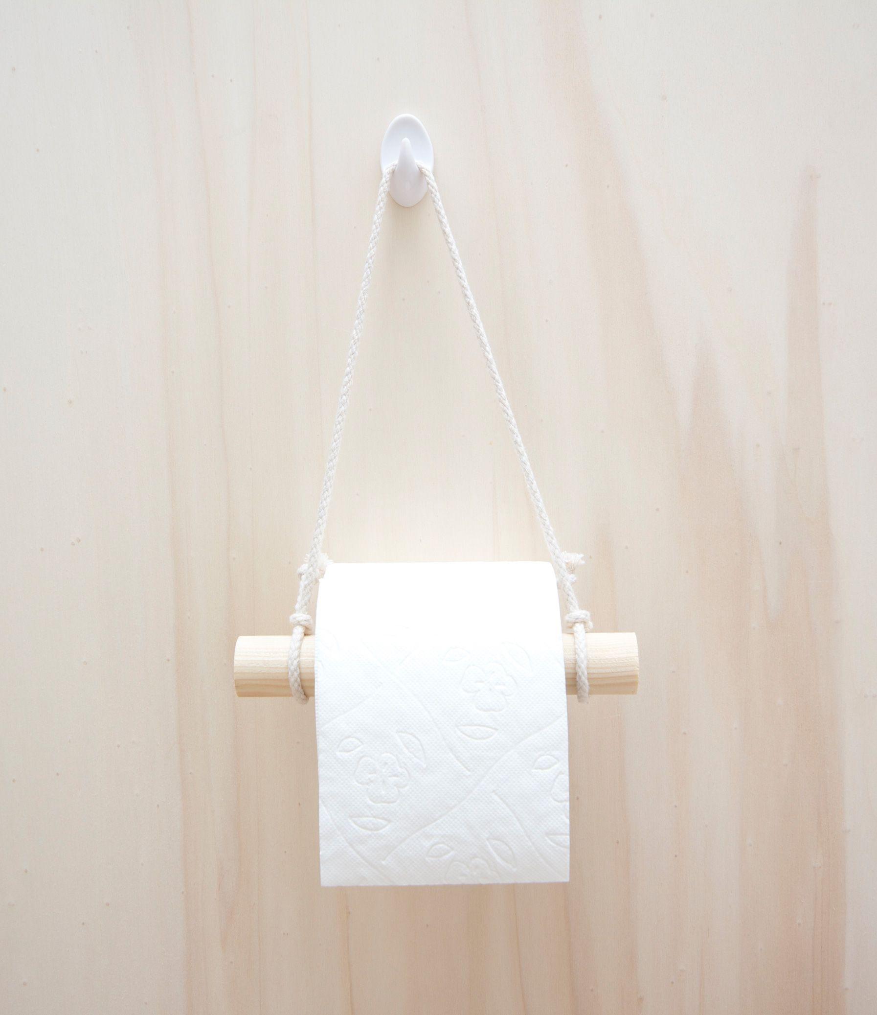 DIY   Toilettenpapierhalter Aus Holz