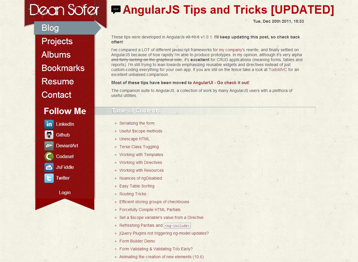 AngularJS Tips and Tricks [UPDATED]   AngularJs   Pinterest