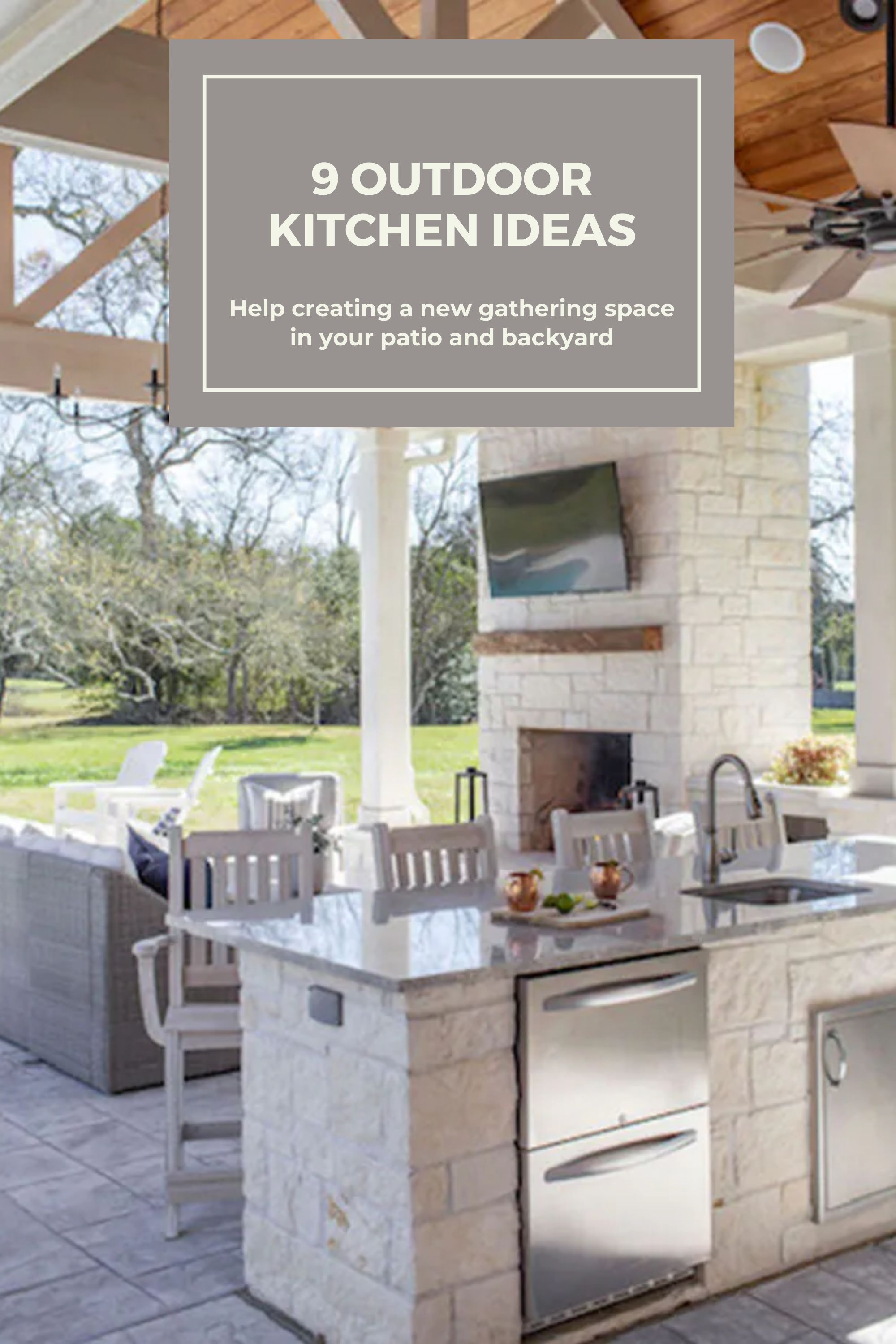9 Outdoor Kitchen Design Ideas That Will Help You Create The Backyard Of Your Dreams Outdoor Kitchen Outdoor Kitchen Design Indoor Outdoor Kitchen