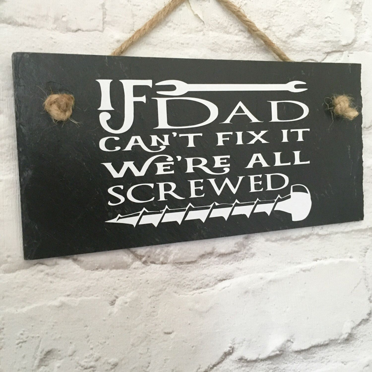 The Dog Has Been Fed Reversible Home Hanging Sign Gift Dog Owners Funny Humour