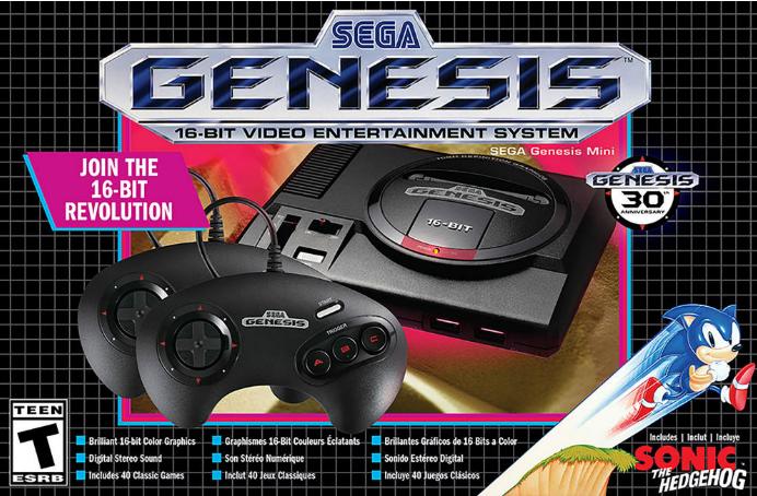 Sega Genesis Mini Sega Genesis Mini Sega Genesis Sega