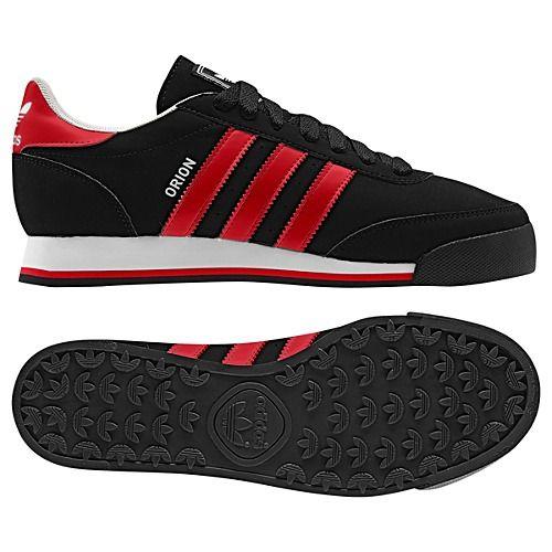 Black, Vivid Red, \u0026 White Adidas Orion