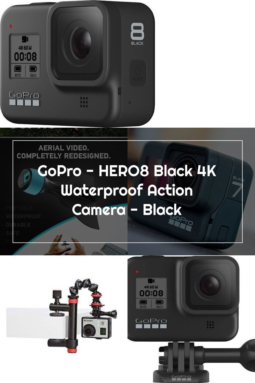 Gopro Hero8 Black 4k Waterproof Action Camera Black In 2020 Action Camera Gopro Waterproof